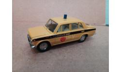 ВАЗ-2101 ГАИ . без коробки, масштабная модель, Тантал, scale43