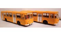 Автобус ЛиАЗ 677М, масштабная модель, ООО 'Скейл', scale43