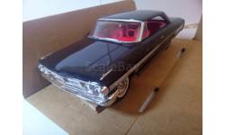 1964 Ford Galaxie 500 AMT Ertl 1:25, масштабная модель, scale24