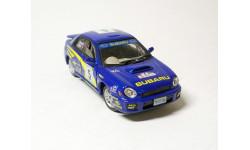 Subaru Impreza WRC Rally (синий) Субару Cararama  Б.2451, масштабная модель, Bauer/Cararama/Hongwell, scale43