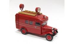 ГАЗ-АА прожекторный пожарный, масштабная модель
