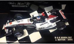 F1 Bar Honda 07, масштабная модель, 1:43, 1/43, Minichamps