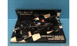F1 Honda RA106 Test