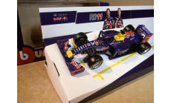 Bburago Infiniti Red Bull Racing RB11 #26 Даниил Квят Formula 1 2015 38016K РАРИТЕТ RARE !