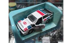Audi Quatro - Matchbox 80-х, масштабная модель