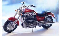 TRIUMPH ROCKET III 1:18, масштабная модель мотоцикла, WELLY, 1/18