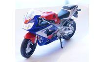 HONDA CBR900RR  1:18, масштабная модель мотоцикла, WELLY, 1/18