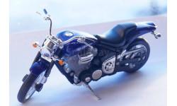 YAMAHA ROAD STAR WARRIOR   1:18, масштабная модель мотоцикла, WELLY, 1/18