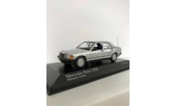 Mercedes-Benz W201 190Е Minichamps 1:43 silver