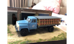 ГАЗ 53-12 Перевозка газовых баллонов, масштабная модель, Vector-Models, 1:43, 1/43