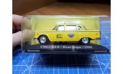 Checker 1980 / Такси мира №1 (Тест), масштабная модель, 1:43, 1/43, DeAgostini