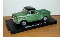 Chevrolet Apache Truck 1958 M2 Machines 1/64 №2, масштабная модель, scale64