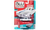 1964 Plymouth Barracuda White Auto world 1/64, масштабная модель, ERTL (Auto World), scale64