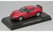 Aston Martin V12 Zagato Kyosho 1/64, масштабная модель, scale64