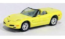 Johnny Lightning Corvette Convertible 1997-2004 1/64, масштабная модель, scale64