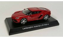Lamborghini Asterion LPI 910-4 Red Kyosho 1/64, масштабная модель, scale64, Healey
