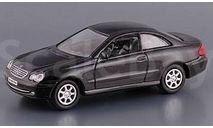 MERCEDES BENZ CLK Coupè черный Real-X 1/72, масштабная модель, scale0, Mercedes-Benz