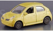 NISSAN March old  желтая М-тех 1/72, масштабная модель, scale0