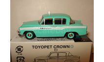 Toyopet Crown GREEN TAXI Tomica Limited Vintage Tomytec 1/64, масштабная модель, scale64