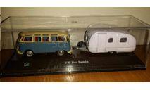 VOLKSWAGEN VW Samba Bus and trailer  CARARAMA Hongwell Schuco  1/72, масштабная модель, scale72