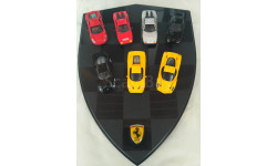 набор  Ferrari (F40, F50, enzo, testarossa, f430, 512 BB)