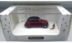 1/87 WIKING  новогодняя модель CITROEN 2CV 1999 Лимитированная серия