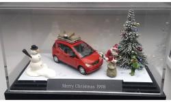 1/87 BUSCH Новогодняя диорама Mercedes ML 1998 SALE!