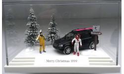 1/87 BUSCH Новогодняя диорама Mercedes ML 1999 SALE!