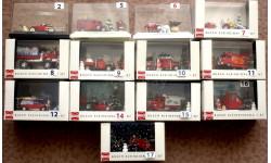 1/87 BUSCH коллекция 13 Новогодних диорам