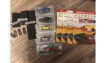 Porsche 4 модели + журналы DeAGOSTINI, журнальная серия масштабных моделей, scale43