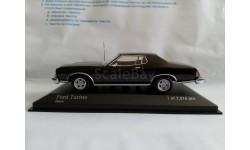 Minichamps FORD TORINO GT - 1975 - BLACK L.E. 2016 pcs., масштабная модель, scale43