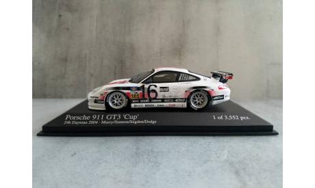 Minichamps PORSCHE 911 GT3 - MURRY/STANTON/SUGDEN/DODGE - TEAM AASCO PERFORMANCE - 24H DAYTONA 2004 L.E. 3552 pcs., масштабная модель, 1:43, 1/43