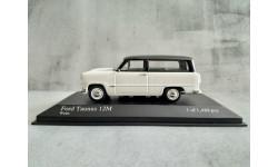 Minichamps FORD TAUNUS 12M TURNIER - 1957 - WHITE L.E. 1488 pcs.