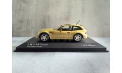 Minichamps BMW M COUPE - 1999 - YELLOW METALLIC L.E. 1008 pcs.