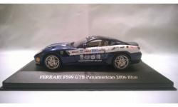 IXO Ferrari F599 GTB Panamerican 2006 Blue, масштабная модель, IXO Ferrari (серии FER, SF), 1:43, 1/43