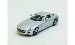 Mercedes SLS AMG, масштабная модель, scale43, DeAgostini, Mercedes-Benz