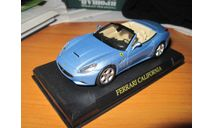 Ferrari California Cabrio, масштабная модель, Eaglemoss (Джи Фаббри), 1:43, 1/43