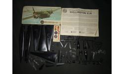 Средний бомбардировщик Vickers Wellington B3 1/72 Airfix, сборные модели авиации, 1:72