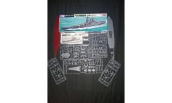 Линкор Battleship Yamato Tamia 1/700., масштабная модель, Tamiya