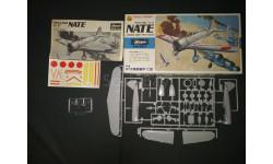 Истребитель Nakajima Ki - 27 'Nate' Type 97 Hasegawa 1/72, масштабные модели авиации, 1:72