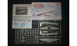 Пассажирский лайнер Lockheed L. 188 Electra 'Legend of aviation' Minicraft model kits 1/144, сборные модели авиации, scale144