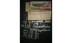 Штурмовик Focke Wulf FW 190 F-8 Airfix 1/72, сборные модели авиации, 1:72