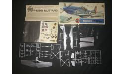 Истребитель P-51D Mustang Airfix 1/72, сборные модели авиации, scale72
