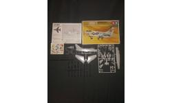 Штурмовик L.T.V. A-7A Corsair 2 Tamiya 1/100, сборные модели авиации, scale100