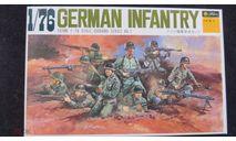 Немецкая пехота. German Infantry Fujimi 1/76 возможен обмен, миниатюры, фигуры, scale0