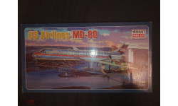US Airlines MD-80 Minicraft 1/144
