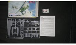 Истребитель АНТ-5 (И-4) Звезда 1/72, сборные модели авиации, scale72