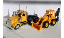 New Ray Грузовик фура Kenworth W 900 трактор 1/43, масштабная модель, New-Ray Toys, scale43