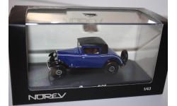 Масштабная модель Norev Пежо Peugeot 201 Coupe 1931 1/43, масштабная модель, 1:43