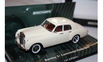 Масштабная модель Minichamps Bentley SI Continental Flying Spur 1/43, масштабная модель, 1:43